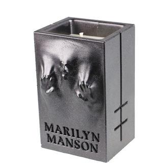 Sveča MARILYN MANSON - BLACK METALLIC - PLASTIC HEAD, PLASTIC HEAD, Marilyn Manson