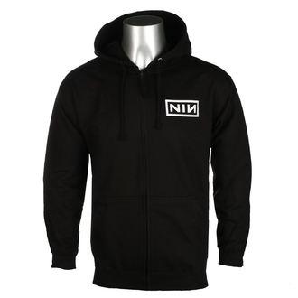 Moška Jopa s kapuco Nine Inch Nails - CLASSIC WHITE LOGO - PLASTIC HEAD, PLASTIC HEAD, Nine Inch Nails