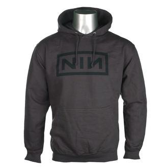 Moška Jopa s kapuco Nine Inch Nails - CLASSIC BLACK LOGO - PLASTIC HEAD, PLASTIC HEAD, Nine Inch Nails