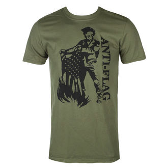 Moška majica Anti-Flag - Flag Burner Green - KINGS ROAD, KINGS ROAD, Anti-Flag