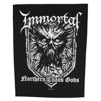 Velik našitek Immortal - Northern Chaos Gods - RAZAMATAZ, RAZAMATAZ, Immortal