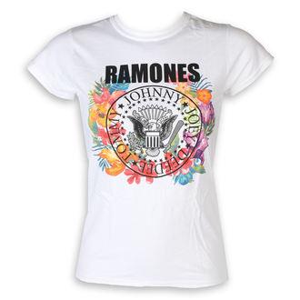 Ženska metal majica Ramones - Circle Flowers - ROCK OFF, ROCK OFF, Ramones
