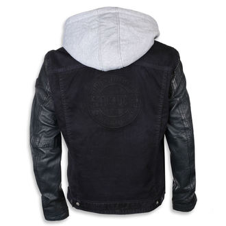 Usnjena jakna AC-DC - Temno modra - NNM, NNM, AC-DC