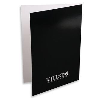 Čestitka KILLSTAR - Taurus - ČRNA, KILLSTAR