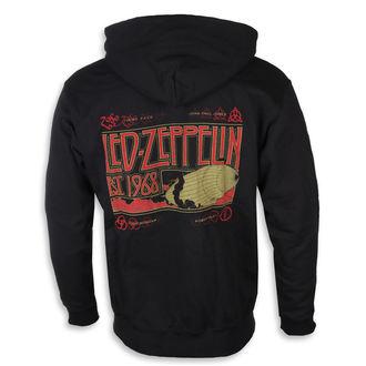 Moška jopa s kapuco Led Zeppelin - Zeppelin & Smoke Black - NNM, NNM, Led Zeppelin
