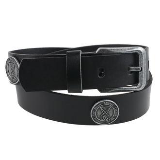 Pas Luciferi - Črna, Leather & Steel Fashion