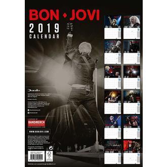 Koledar za leto 2019 BON JOVI, NNM, Bon Jovi
