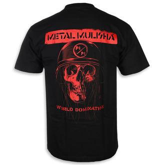 Moška ulična majica - UNDEAD BLK - METAL MULISHA, METAL MULISHA