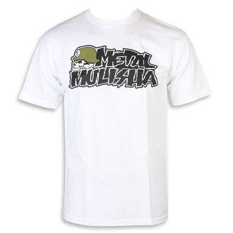 Moška ulična majica - IKON WHT - METAL MULISHA, METAL MULISHA