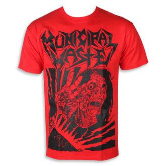 Moška metal majica Municipal Waste - Skelbot red -, Municipal Waste