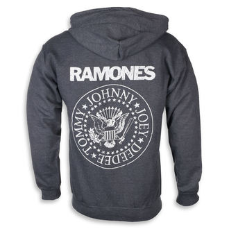 Moška jopa s kapuco Ramones - HEY HO LET'S GO - PLASTIC HEAD, PLASTIC HEAD, Ramones