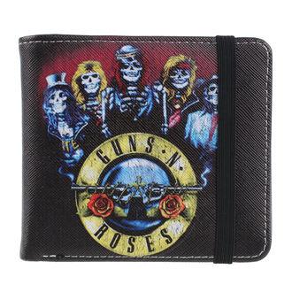 Denarnica Guns N' Roses - Skeleton, NNM, Guns N' Roses