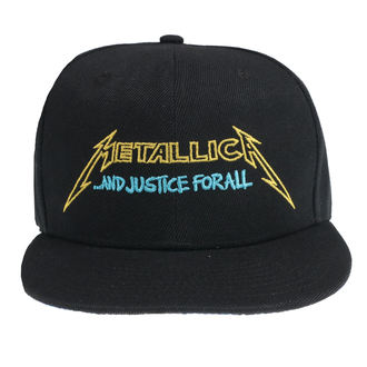 Kapa Metallica - Justice Bright Starter - Črna, NNM, Metallica