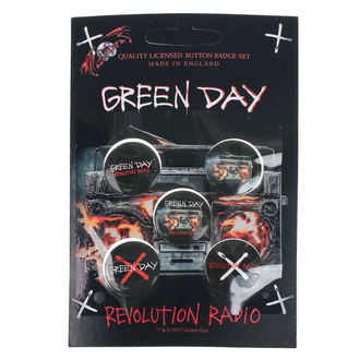 Značke Green Day - Revolution Radio - RAZAMATAZ, RAZAMATAZ, Green Day