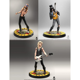 Figure (set) Guns N' Roses - Band - Rock Iconz, KNUCKLEBONZ, Guns N' Roses