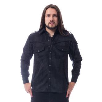 Moška majica Vixxsin - LESS - BLACK PINSTRIPE, VIXXSIN
