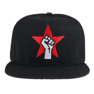 Kapa Rage Against The Machine - Fist Logo - Črna, NNM, Rage against the machine