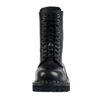 Škornji STEADY´S - 10 vezalnih lukenj - rdeča roza, STEADY´S