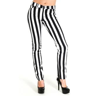 hlače moški 3RDAND56th - Stripe Skinny - Črno / bela, 3RDAND56th