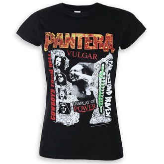 Ženska metal majica Pantera - 3 Albums - ROCK OFF, ROCK OFF, Pantera
