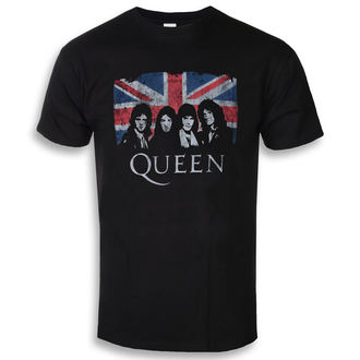 Moška metal majica Queen - Union Jack - ROCK OFF, ROCK OFF, Queen