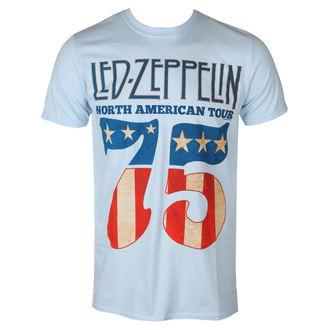 Moška metal majica Led Zeppelin - 1975 North American Tour - NNM - RTLZETSB1975