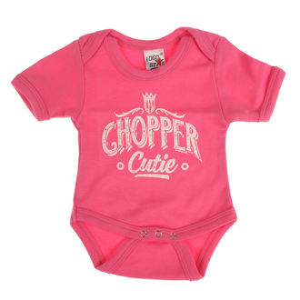 Otroški body WEST COAST CHOPPERS - ONESIE CHOPPER CUTIE BABY CREEPER - Rose, West Coast Choppers