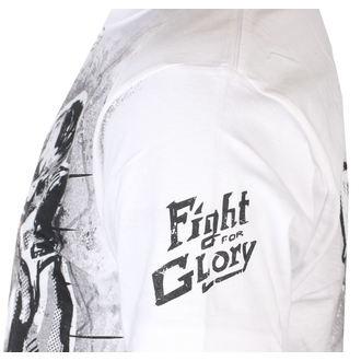 Moška majica ALISTAR - Fight for Glory - Bela, ALISTAR