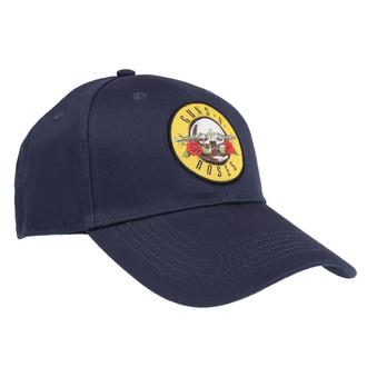 Kapa Guns N' Roses - Circle Logo - NAVY - ROCK OFF - GNRCAP01N