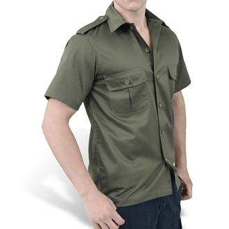 majica SURPLUS - ZDA Hemd 1/2 - OLIV, SURPLUS