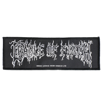 Našitek Cradle Of Filth - Logo - RAZAMATAZ, RAZAMATAZ, Cradle of Filth
