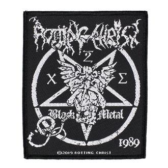 Našitek Rotting Christ - Black Metal - RAZAMATAZ, RAZAMATAZ, Rotting Christ