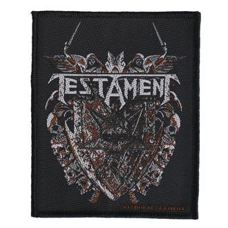 Našitek Testament - Shield - RAZAMATAZ, RAZAMATAZ, Testament