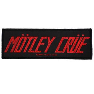 Našitek Mötley Crüe - Logo - RAZAMATAZ, RAZAMATAZ, Mötley Crüe