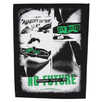 Velik našitek Sex Pistols - No Future - RAZAMATAZ, RAZAMATAZ, Sex Pistols