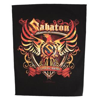 Velik našitek Sabaton - Coat Of Arms - RAZAMATAZ, RAZAMATAZ, Sabaton