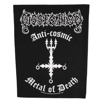Velik našitek Dissection - Anti Cosmic Metal Of Death - RAZAMATAZ, RAZAMATAZ, Dissection