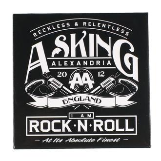 Magnet Asking Alexandria - ROCK OFF, ROCK OFF, Asking Alexandria