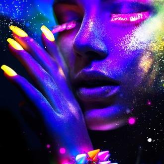 Lak za nohte STAR GAZER - Neon Violet, STAR GAZER