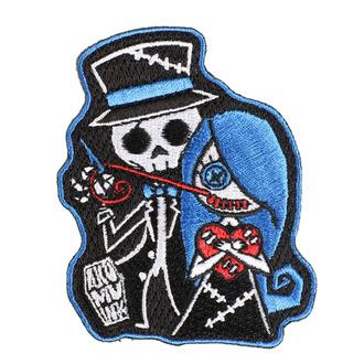 Likalni našitek (obliž) AKUMU INK - Stitch Me a Smile, Akumu Ink