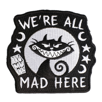 Likalni našitek (obliž) AKUMU INK - We're All Mad Here, Akumu Ink