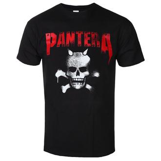Moška metal majica Pantera - Horned Skull Stencil - ROCK OFF, ROCK OFF, Pantera