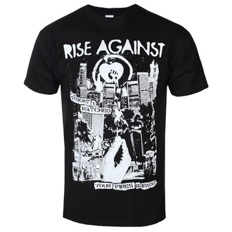 Moška metal majica Rise Against - Fires - Črna - KINGS ROAD, KINGS ROAD, Rise Against