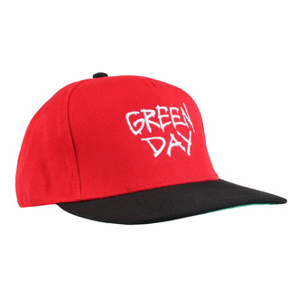 Kapa GREEN DAY - RADIO HAT - PLASTIC HEAD, PLASTIC HEAD, Green Day