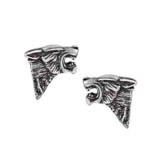 Uhani ALCHEMY GOTHIC - Dark Wolf Studs, ALCHEMY GOTHIC