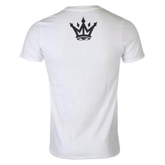 Moška hardcore majica MAFIOSO - Strip - WHT, MAFIOSO