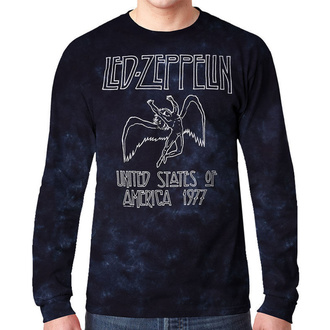 Moška metal majica Led Zeppelin - USA TOUR '77 - LIQUID BLUE, LIQUID BLUE, Led Zeppelin