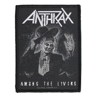 Našitek Anthrax - Among The Living - RAZAMATAZ, RAZAMATAZ, Anthrax