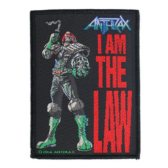 Našitek Anthrax - I Am The Law - RAZAMATAZ, RAZAMATAZ, Anthrax