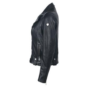 Ženska motoristična jakna GG Favorit - Črna, NNM